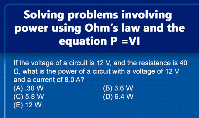 Power (Electromagnetism) - Example 2