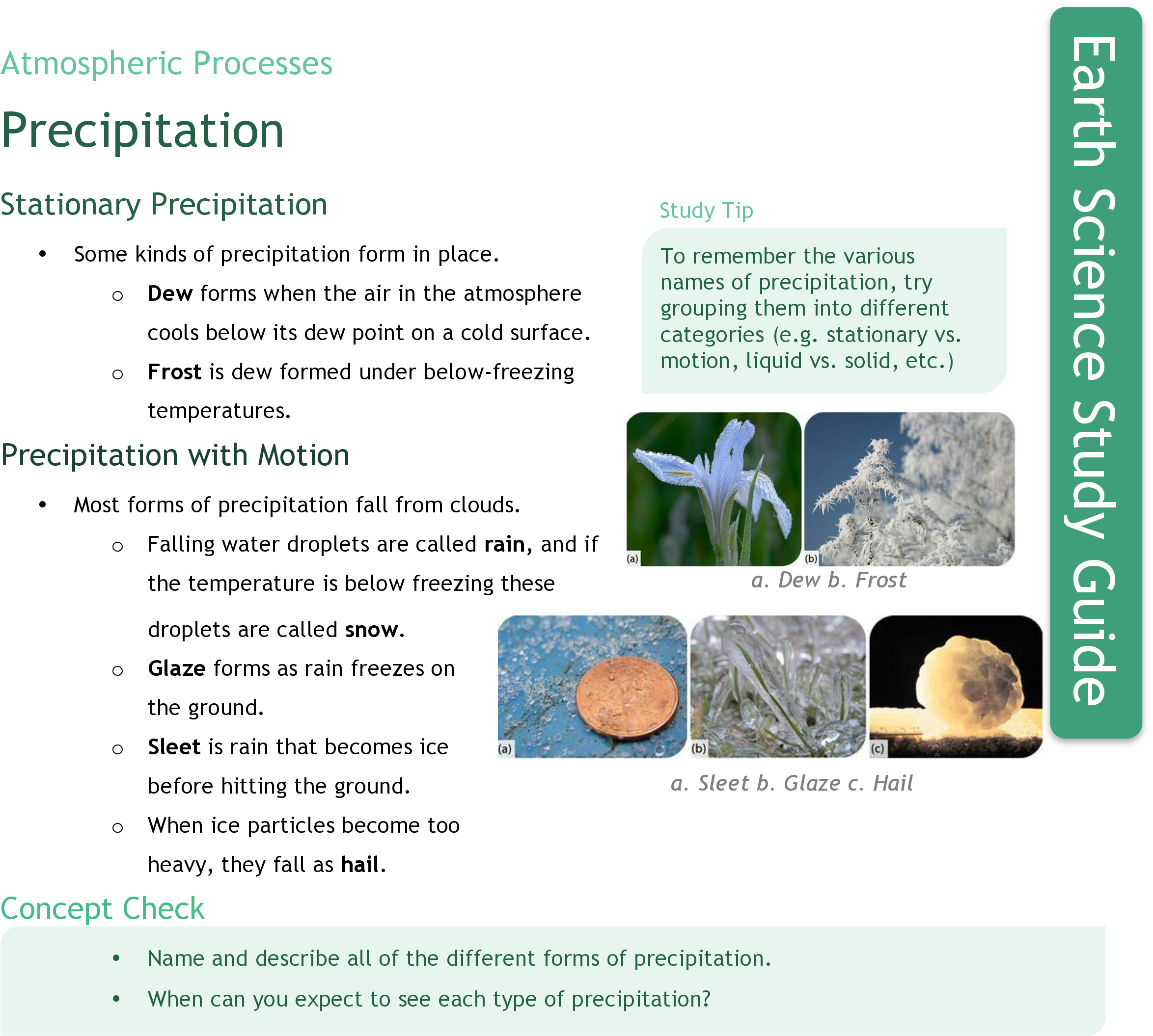 Precipitation | CK-12 Foundation