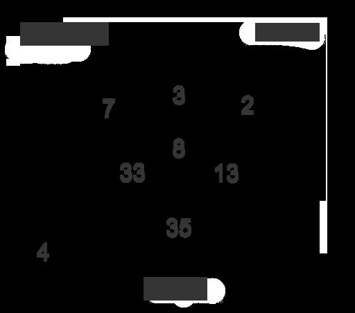 Probabilidad al usar el diagrama de venn y la probabilidad usa el diagrama de venn siguiente para determinar la probabilidad de seleccionar un estudiante que ccuart Choice Image