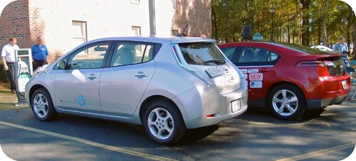 An electric vehicle and a hybrid vehicle