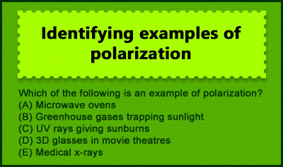 Physical Optics: Polarization, Diffraction and Interference - Example 1