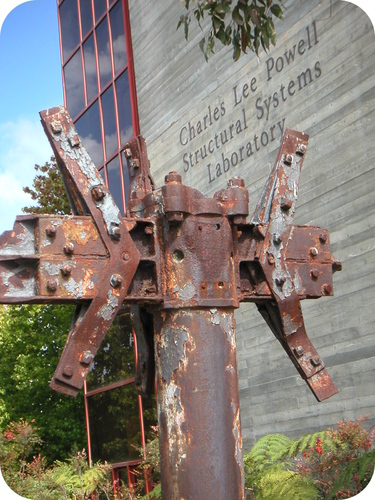Outdoor sculptures will generally rust if they are not protected