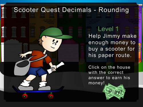 Scooter Quest Decimals