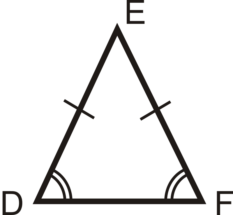 Isosceles Triangles Ck 12 Foundation