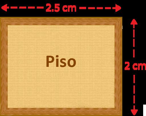 2029b3e51 15. El siguiente dibujo a escala muestra el piso de la habitación de Julian.