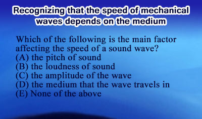 Speed of Mechanical Waves - Example 1