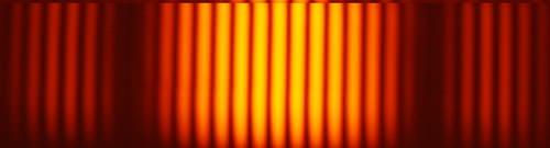 Wave interference pattern