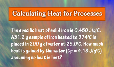 Specific Heat and Heat Capacity - Example 5