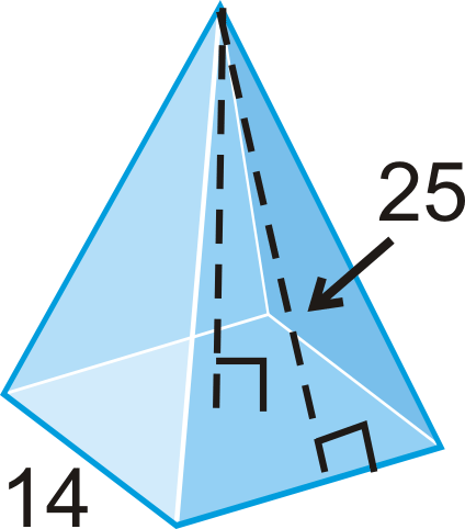 Pyramids ( Read ) | Geometry | CK-12 Foundation