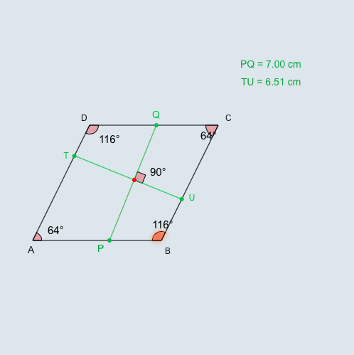 Area and Perimeter of Rhombuses and Kites