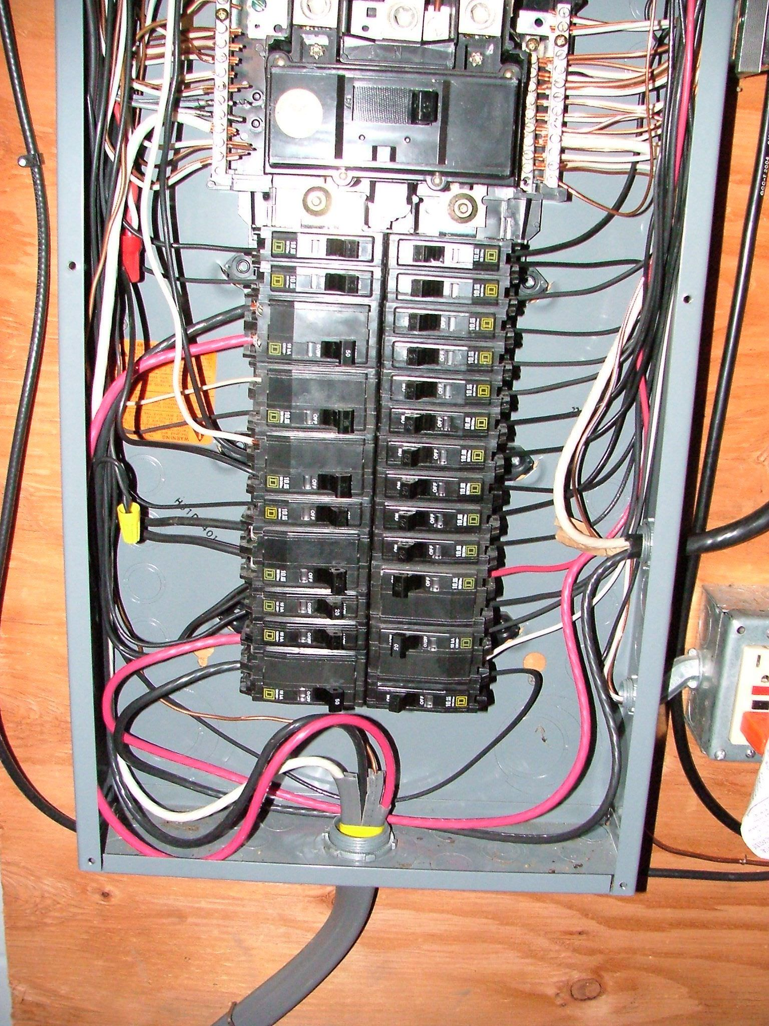 Electric Circuits Ck 12 Foundation Breaker Panel More Electrical 110 Install Doorbell Wiring Circuit