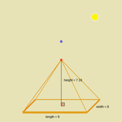 Volume of Pyramids: Slider Exploration