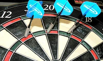 Physics Behind Darts