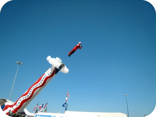 Understanding the physics before a human cannonball launch is very important