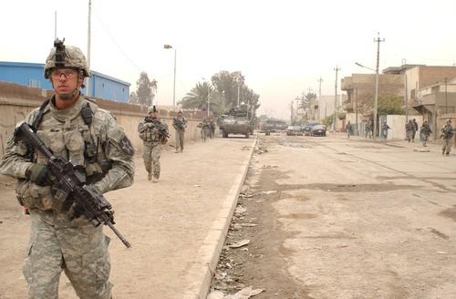Marine Troops in Iraq