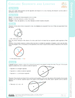 Circles: Segments and Lengths Study Guide
