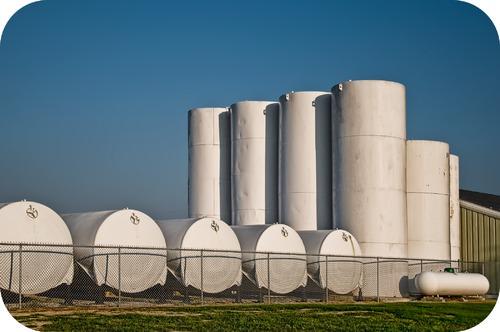 Compressed gas tanks