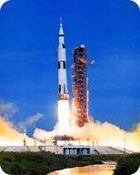 A rocket launch