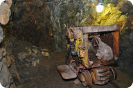 Uranium mine in the Czech Republic