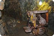 Uranium mine in the Czech Republic