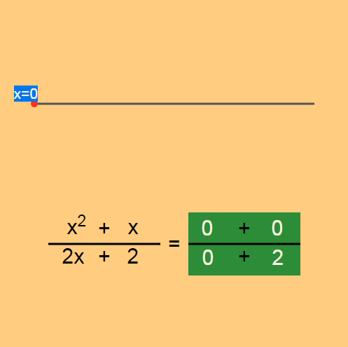 Simplifying Rational Expressions: Sliding Solver