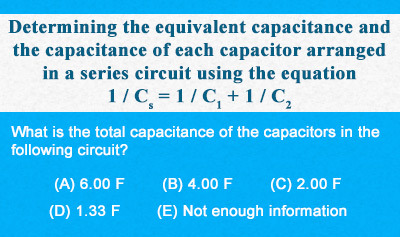 RC Circuits 1: Capacitors in Series - Example 1