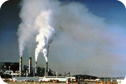 A major source of air pollution is the burning of fossil fuels in factories, power plants, and motor vehicles