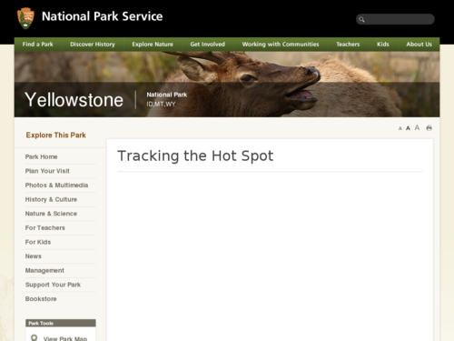 Tracking the Yellowstone Hotspot