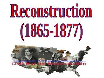 Reconstruction after the civil war essay
