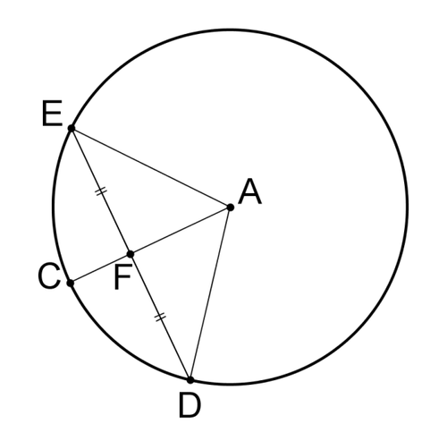 Central Angles And Chords Ck 12 Foundation