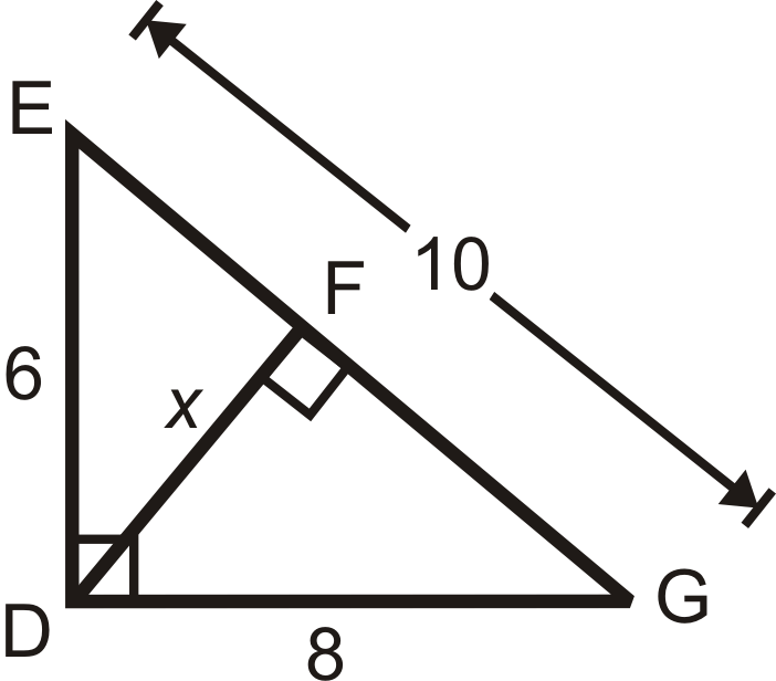 Using Similar Right Triangles – Similar Right Triangles Worksheet