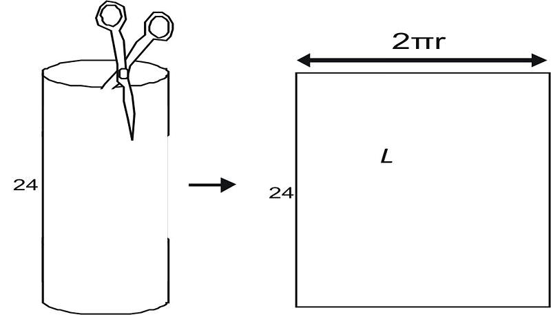 Cylinder Base Area Lateral Area Surface Area and Volume – Surface Area of Cylinders Worksheet