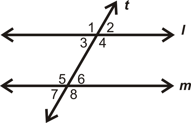 Angle Pairs And Parallel Lines Cut By Transversals