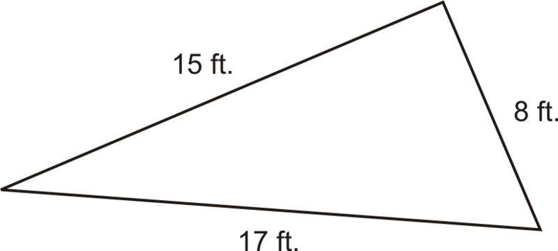 Pythagorean Theorem Part  Converse Of The Pythagorean Theorem