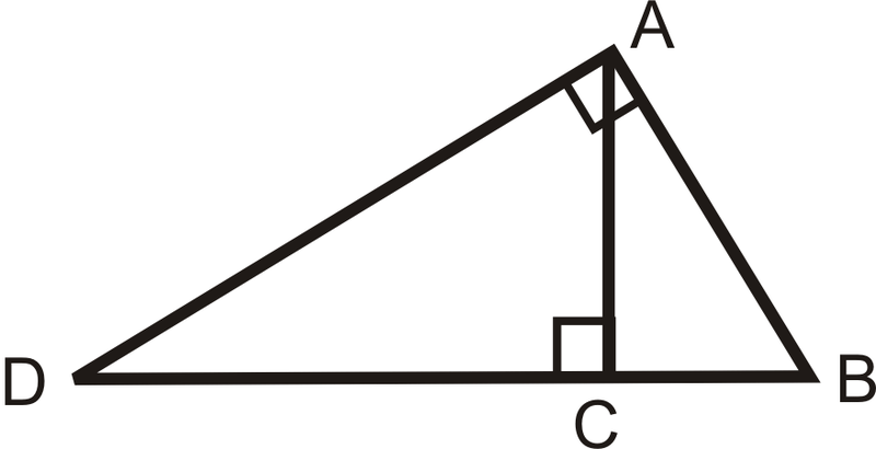 Inscribed Similar Triangles Read Geometry Ck 12 Foundation