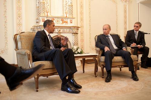President Obama and Russian President Putin