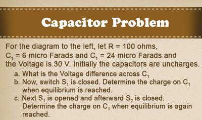 Capacitor Problem
