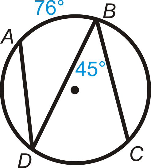 Inscribed Angles In Circles Read Geometry Ck 12