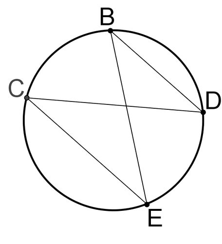 Inscribed Angles in Circles ( Read ) | Geometry | CK-12 ...