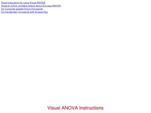 Understanding ANOVA Visually