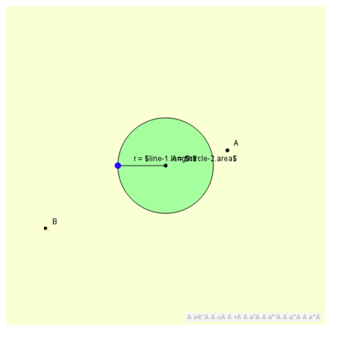 Restricted Circle Radius and Area: Domain and Range