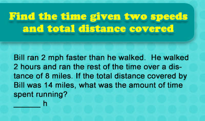 Time = Distance / Speed - Example 3