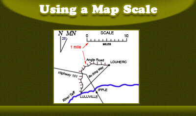 Using a Map Scale
