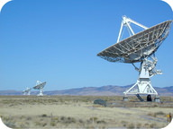 The Very Large Array in New Mexico consists of 27 radio telescopes