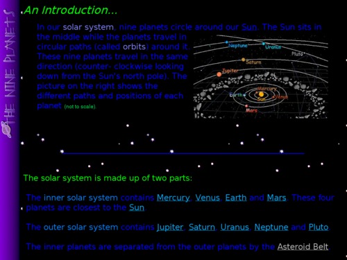 An Introduction to Our Solar System