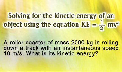 Kinetic Energy - Example 1