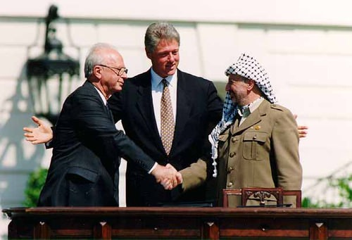 Signing of Oslo Accords in 1993