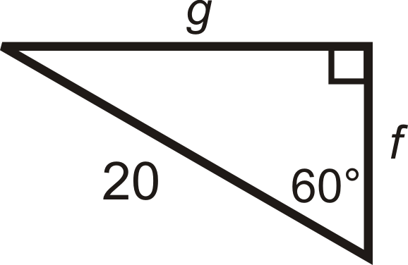 Special Right Triangles Worksheet Answers Find The Missing Side Lengths