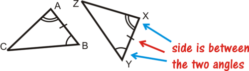 ASA and AAS Triangle Congruence