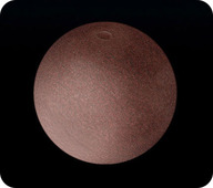 Drawing of the dwarf planet Makemake